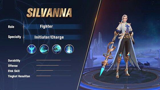Harga Silvanna Mobile Legends 92729