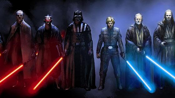Jedi Sith F1e64