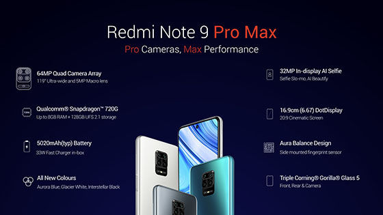 Redmi Note 9 Pro Max Ccf4f