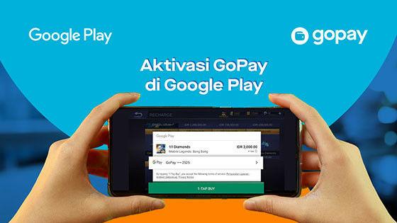 Aktifkan Gopay Di Google Play 6b235