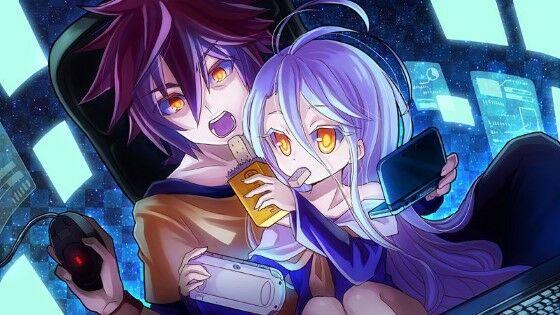 Karakter Gamer Anime Blank 82b59