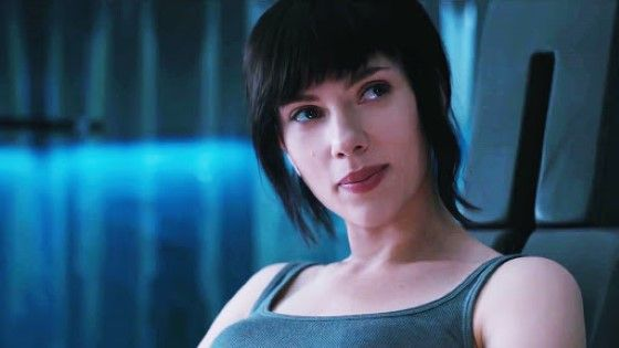 Scarlett Johansson Ghost In The Shell 2017 A930b