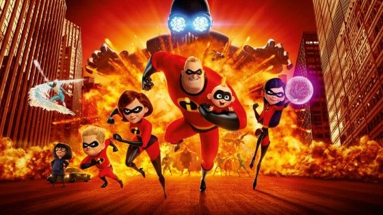 Film Animasi Disney Incredibles 2 Custom E0c66
