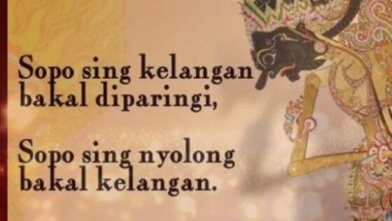 50 Kata Bijak Jawa Kuno Beserta Artinya Inspiratif Jalantikus