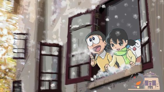 Wallpaper Doraemon Keren 14 2 C1790