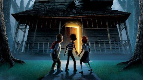 Animasi Horor Monster House 2006 Custom Fb045