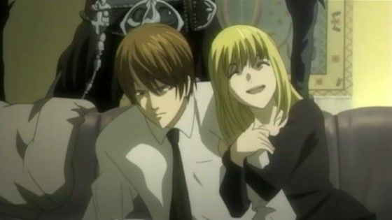 Pasangan Anime Amane Misa Yagami Light Death Note Custom 00643