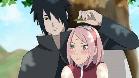 Pasangan Anime Haruno Sakura Uchiha Sasuke Custom 72aa5