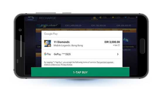 Cara Menambahkan Gopay Google Play 04a 72501
