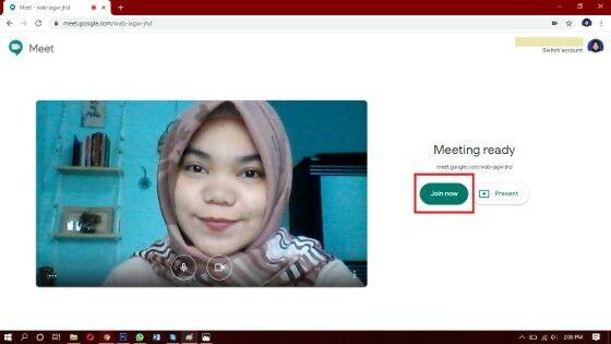 Cara Menggunakan Google Meet Custom 582e7
