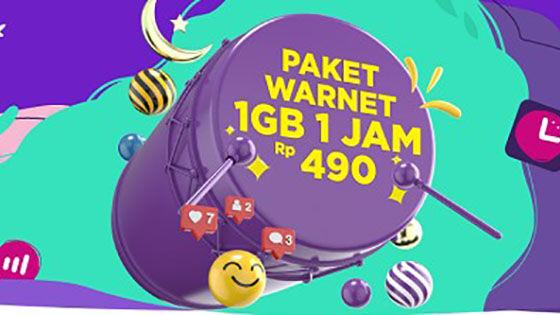 Paket Internet Axis Warnet 5d805