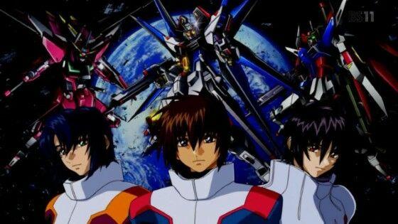 Urutan Gundam Gundam Seed Destiny 7460b