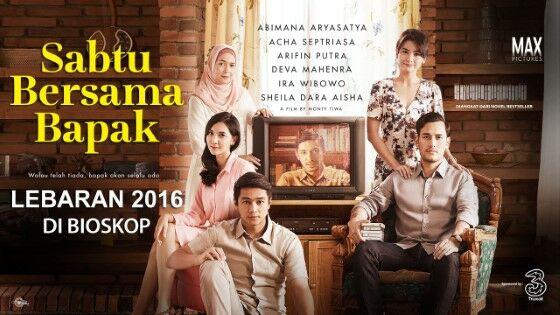 Film Indonesia Sedih Sabtu Bersama Bapak Custom Ba697