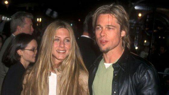Brad Pitt Dan Jennifer Aniston 3dfe6