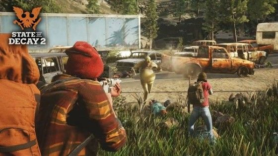 Zombie 5 State Of Decay 2 Custom Cd9dd