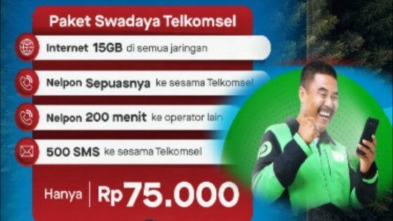 Paket Telkomsel Gojek 3bc21