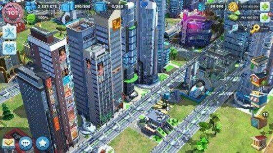 Simcity Buildit Mod Apk Unlimited Simcash A7190