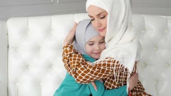 Depositphotos 267221982 Stock Video Muslim Mom And Her Little Custom 31b0f