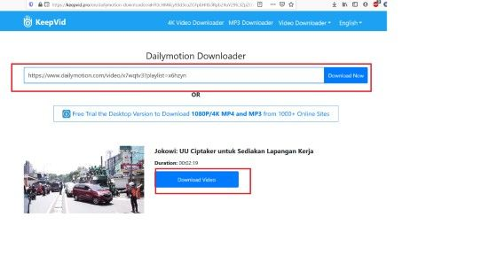 Free Dailymotion Downloader A7e29