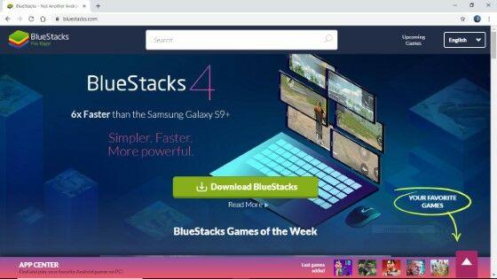 Download Google Meet Di Laptop Lewat Bluestacks F9886