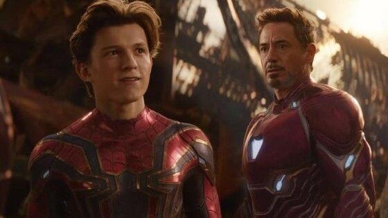 Peter Parker Tony Stark 82799
