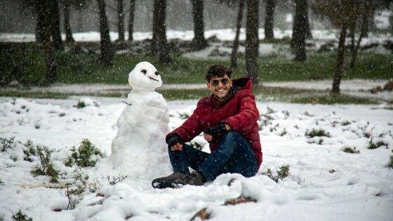 Pertama Kali Salju Turun Di Arab Libya Cb50c