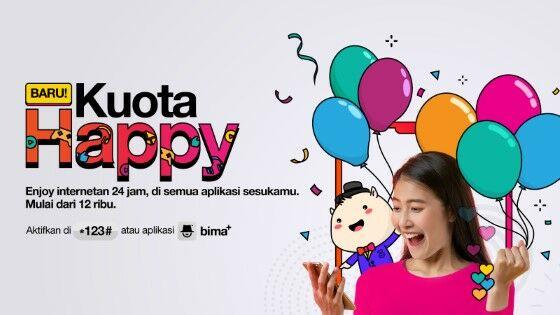 Paket Internet Happy 3 0dd9a