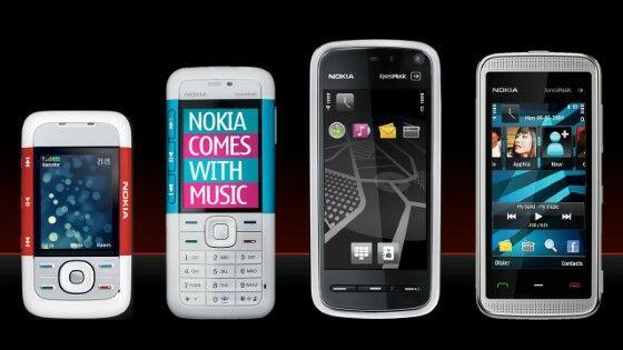 Nokia Xpress Music Fe309