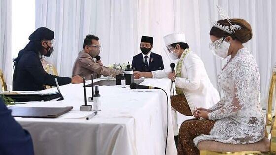Jokowi Jadi Saksi Pernikahan Atta Aurel 32923