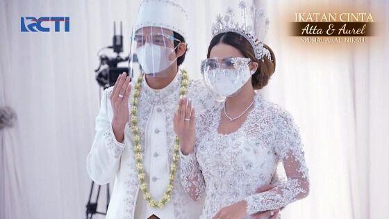 Pernikahan Atta Aurel Di TV Abeb2