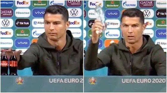 Cristiano Ronaldo Singkirkan Coca Cola 746db