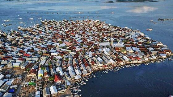 Pulau Bungin Terpadat Di Dunia D740f