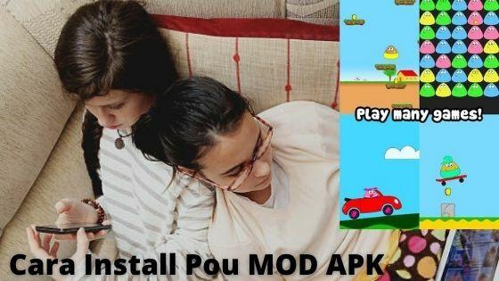 Cara Install Pou MOD APK Ff0c8