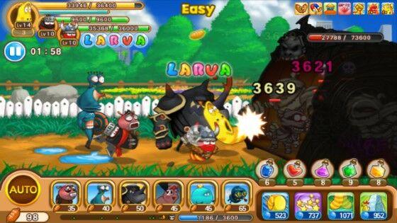 Larva Heroes Mod Apk 8102d