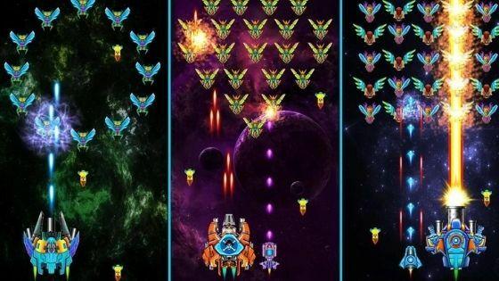 Tentang Galaxy Attack Alien Shooter MOD APK 7dfed