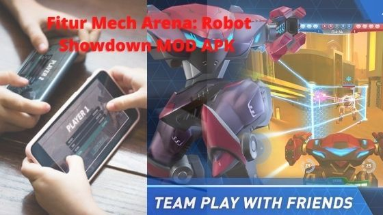 Fitur Mech Arena Robot Showdown MOD APK 6619e