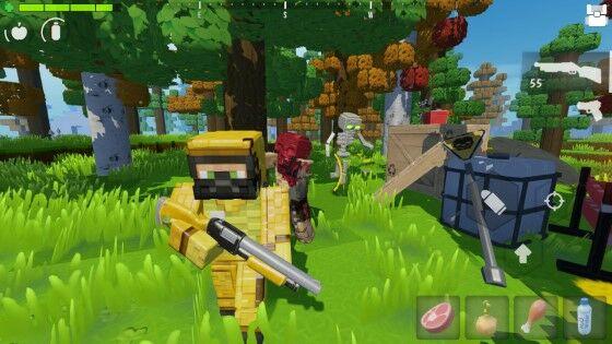 Download Game Hunter Craft MOD APK Unlimited Money 223ed