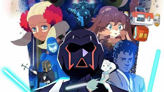 Star Wars Visions Poster B0373 7c61d