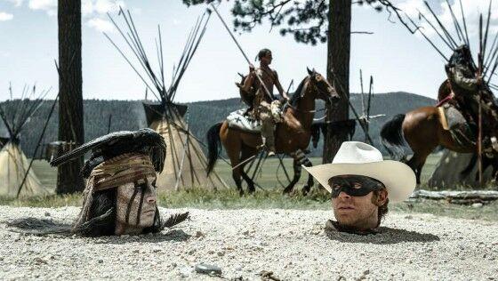 Film Over Budget Lone Ranger 53730
