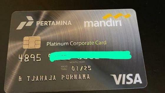 Kartu Kredit Komisaris Pertamina Basuki Tjahaja Purnama 169 8527c