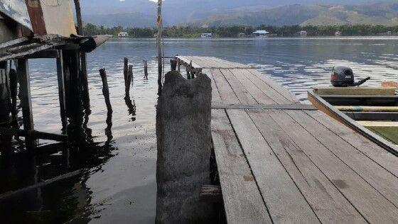 Peninggalan Purbakala Danau Sentani 05038
