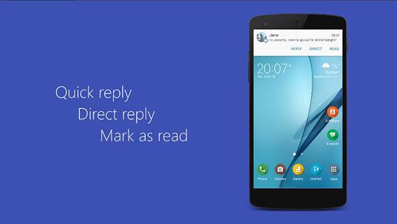 Cara Membalas Notifikasi Chat Di Android 7