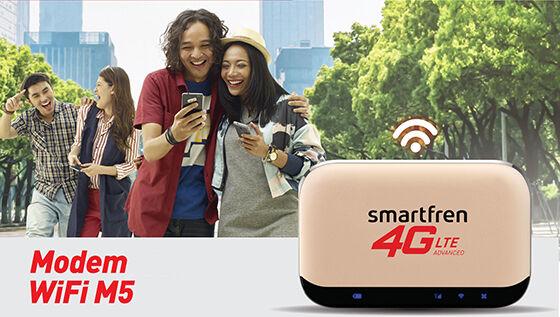 Modem Wifi Smartfren 5