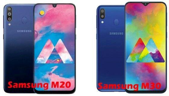Perbandingan Samsung Galaxy M20 M30 1 84510