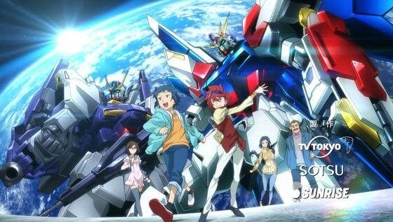 Urutan Gundam Gundam Build Fighter 911e8