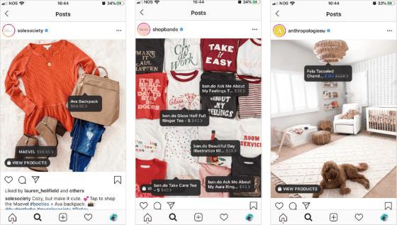 Instagram Shops C1590