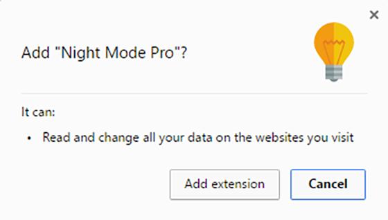 Night Mode Google Chrome 2
