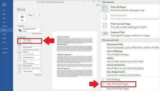 Cara Print Bolak Balik Di Word Manual 2 E35ef