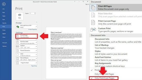 Cara Print Bolak Balik Di Word Manual 3 3724e