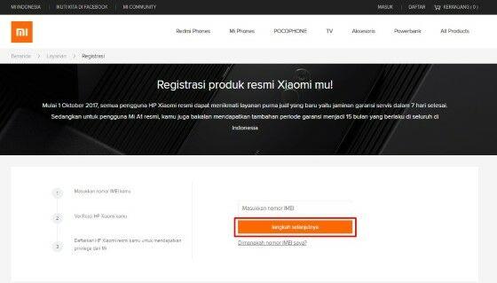 Cek Garansi Xiaomi Online 50e58